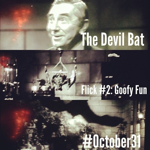 OCT31 - 2 - The Devil Bat