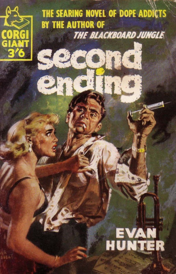 Second Ending - Evan Hunter - Pulp Cover