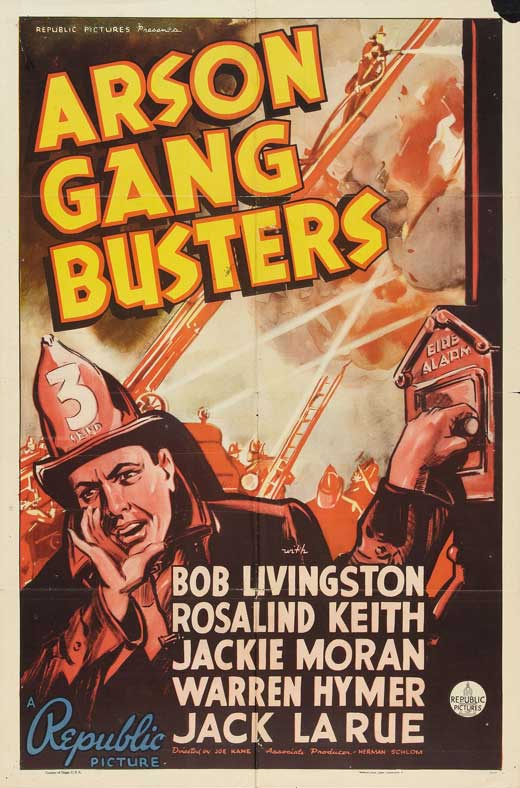 Arson Gang Busters Movie Poster