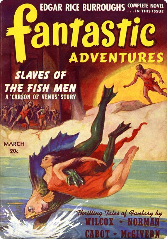 Fantastic Adventures - Slaves of the Fish Men