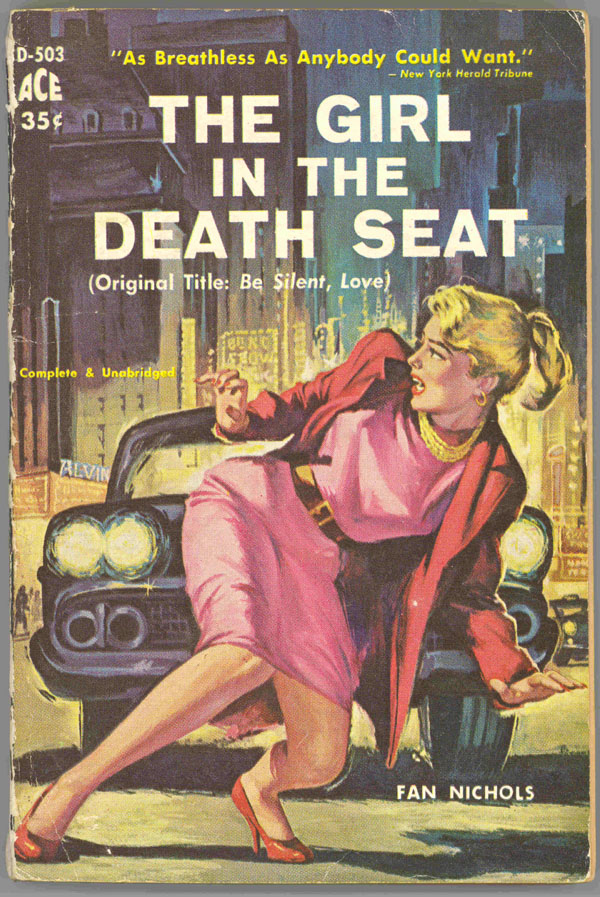 The Girl in the Death Seat - pulp cover