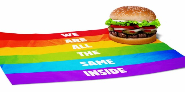 Burger King - Proud Burger - We Are All The Same Inside