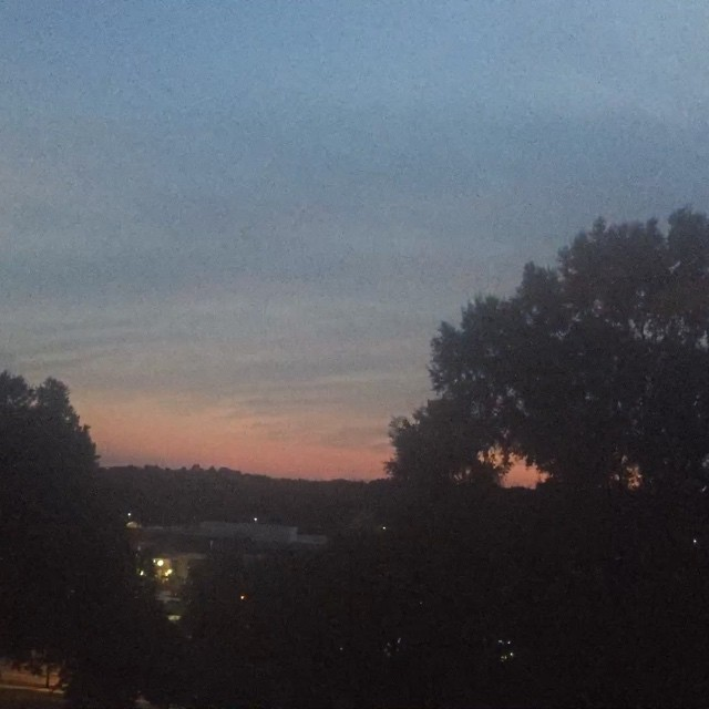 Dusk in Raleigh #OpRaleigh #TimeLapse