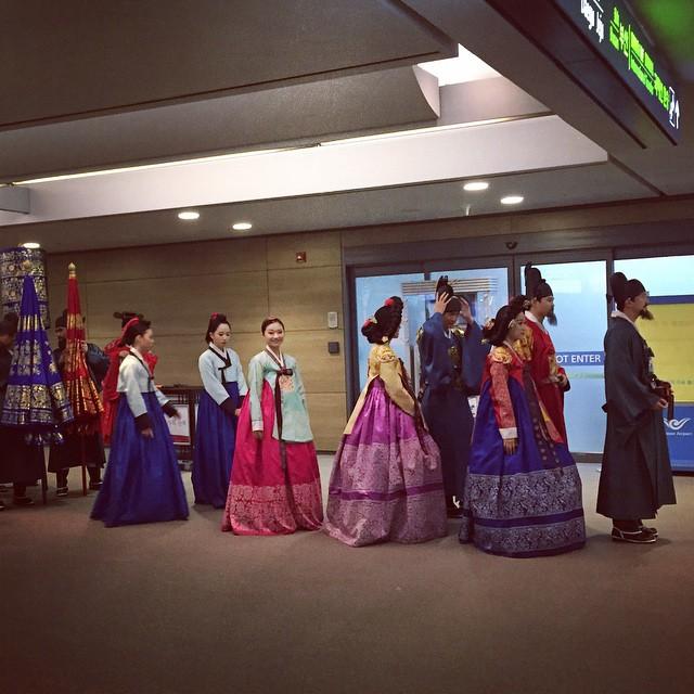 People I have met in a South Korean airport. #OpIndie