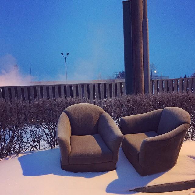 """When a Saskatoonite tells you to """"take a seat."""""""