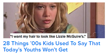 """28 Things '00s Kids Used to Say that Today's Youths Won't Get"""