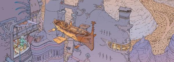 Mœbius - detail from C'est du Lux