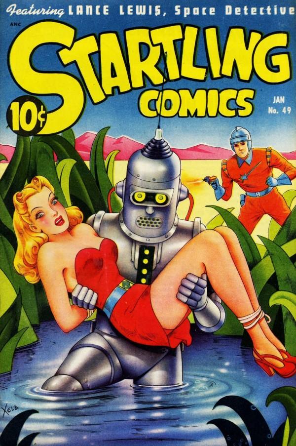 1948 Startling Comics by Alex Schomberg