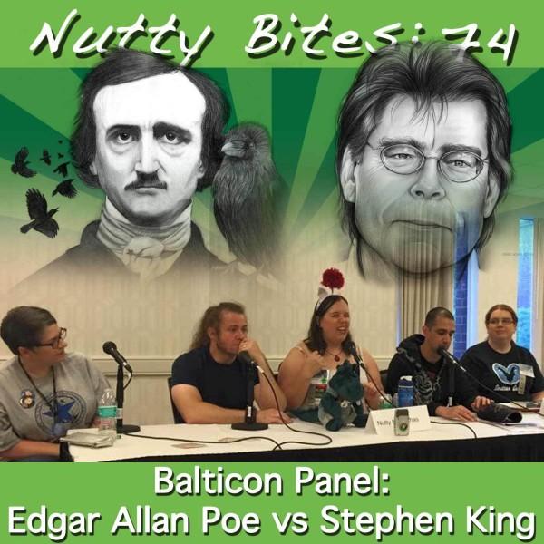 Nutty Bites 74: Edgar Allan Poe Vs. Stephen King