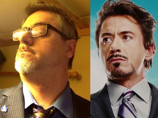 Doc Blue as Tony Stark