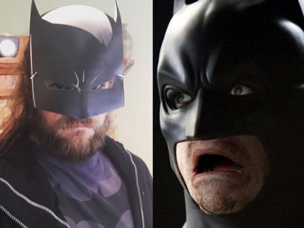 Jurd as Batman