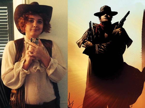 Shade as Roland the Gunslinger