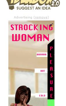 Strocking Woman