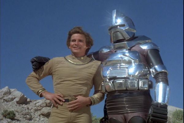 Galactica 1980 - Starbuck and Cy