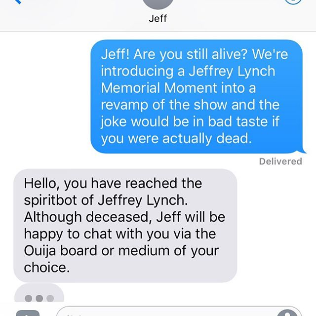 Conversations with undead podcast friends