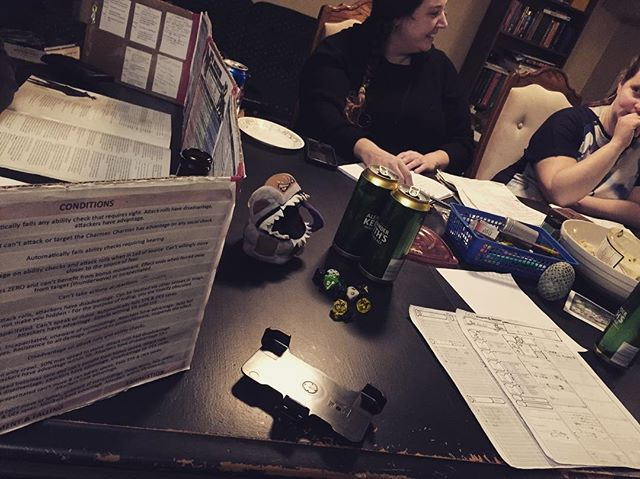 D&D Night: Orcs were both seduced & slain