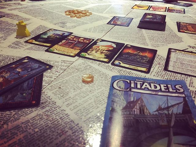 Last Night: Citadels!