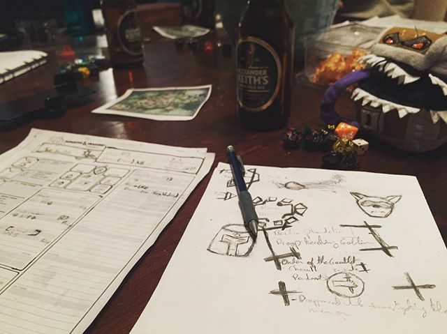 D&D Night: Secret societies make for copious table talk
