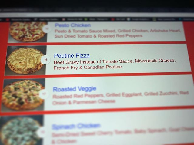 Poutine Pizza: Thoughts?