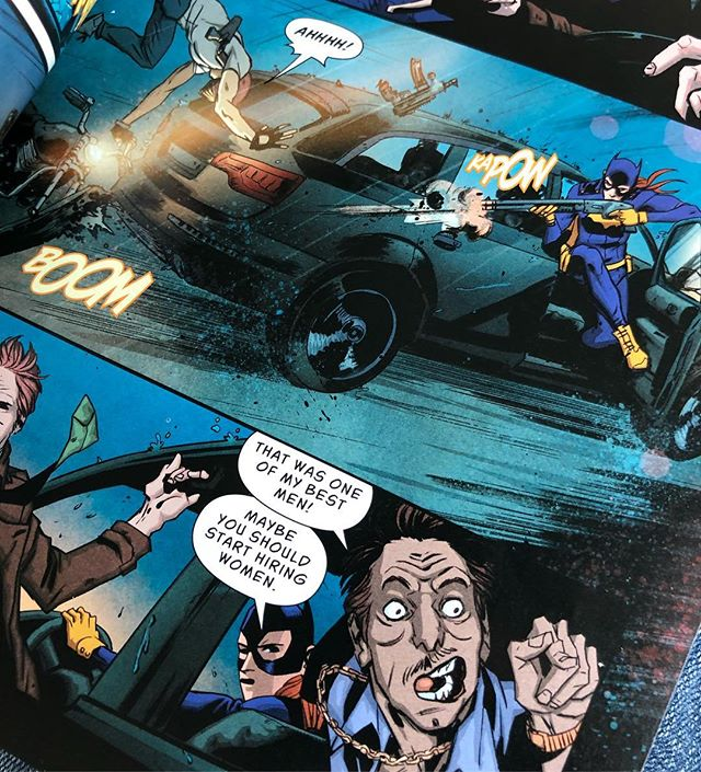 Batgirl and the Birds of Prey is a lot of fun