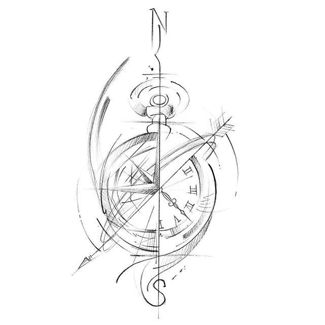 Tomorrow's piece! (Sketch by @karen_tattoo)