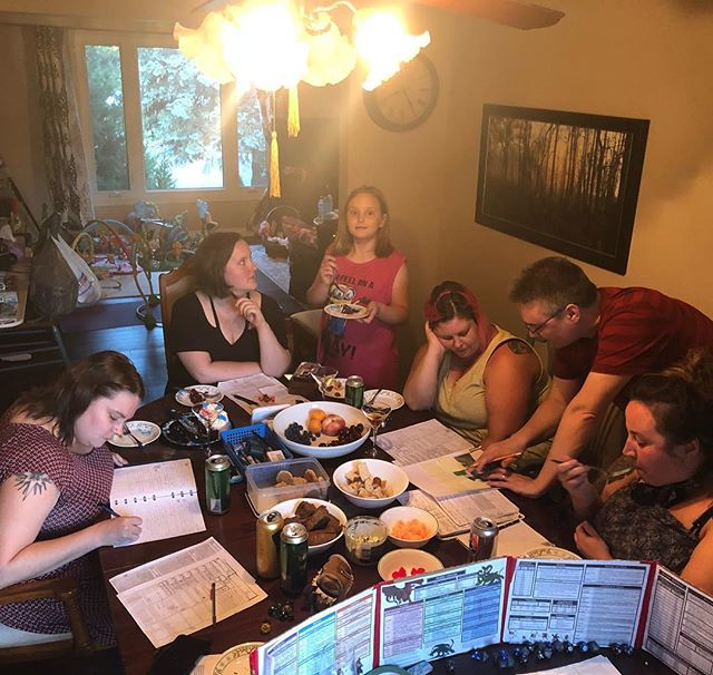 D&D Night: One Whole Year of Not Dying!