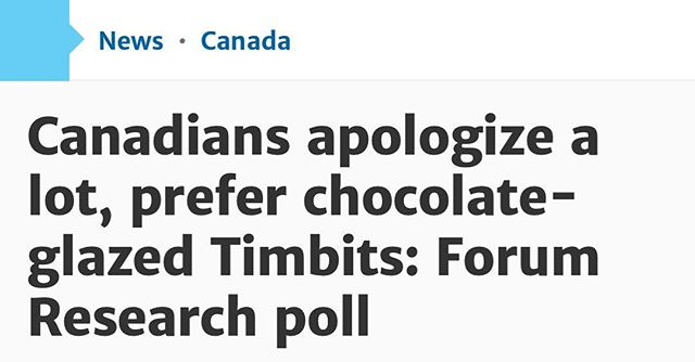 Meanwhile, in Canada: Breaking News