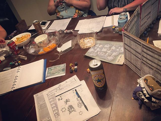 D&D Night: Playing 'Love It or List' it with a Green Dragon