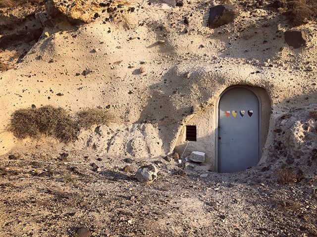 In a hole in the ground there lived a Greek hobbit