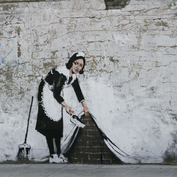 Banksy's Maid