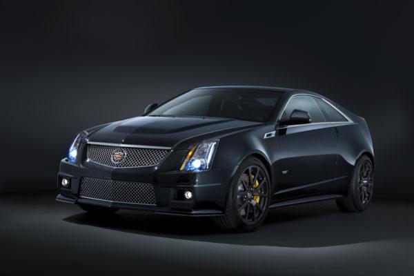 A black sedan