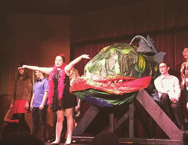 Our Audrey II!!! #skinnerco