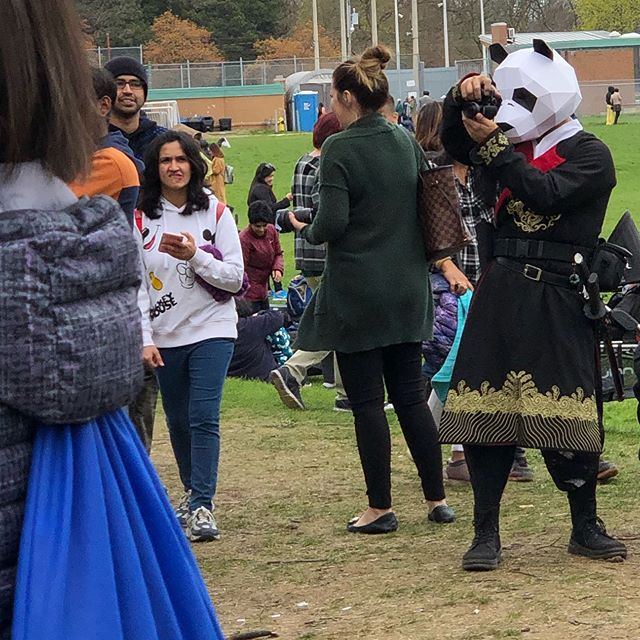 Yes, there was a samurai panda.