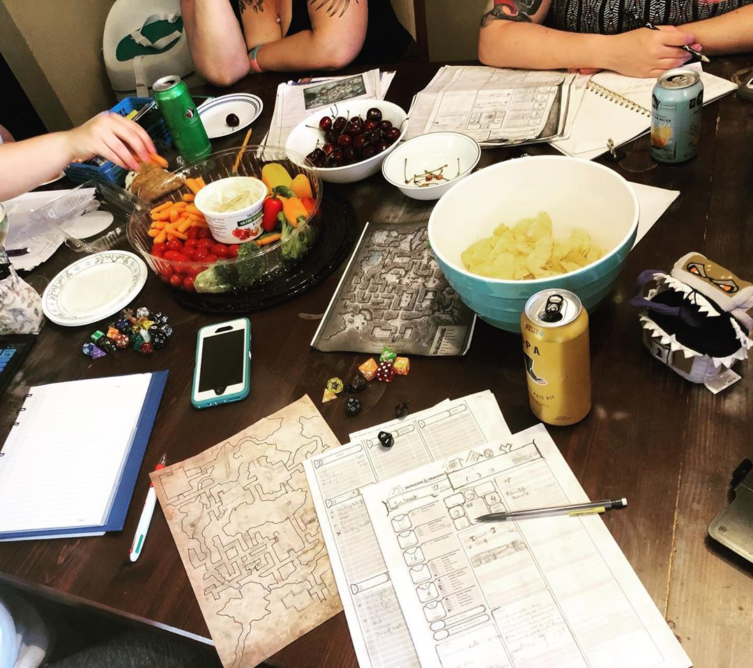 D&D Night: +5HP to mental health