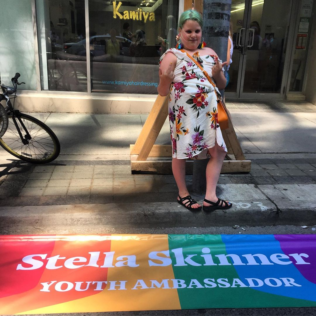 It's been real! #resist #pridetoronto #skinnerco