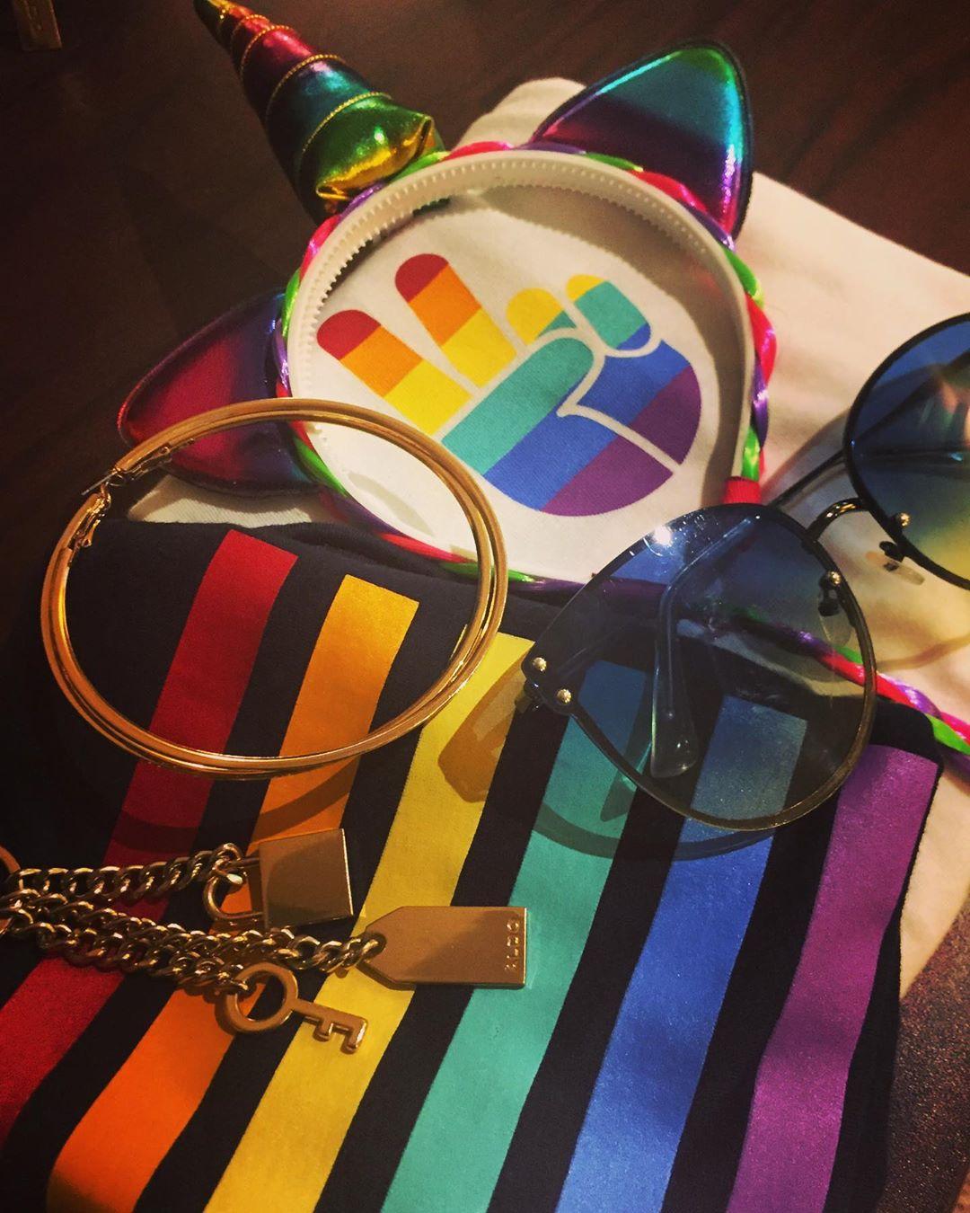 Packing for PRIDE! #pridetoronto #skinnerco