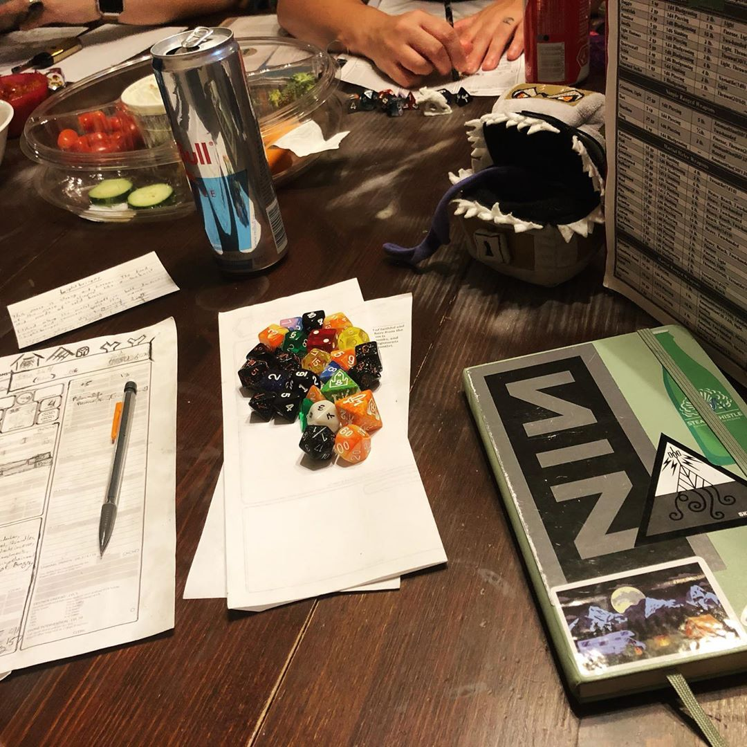 D&D Night: Enter the Wampire!