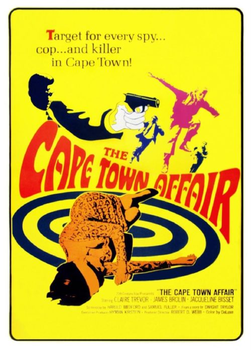 The Cape Town Affair movie poster