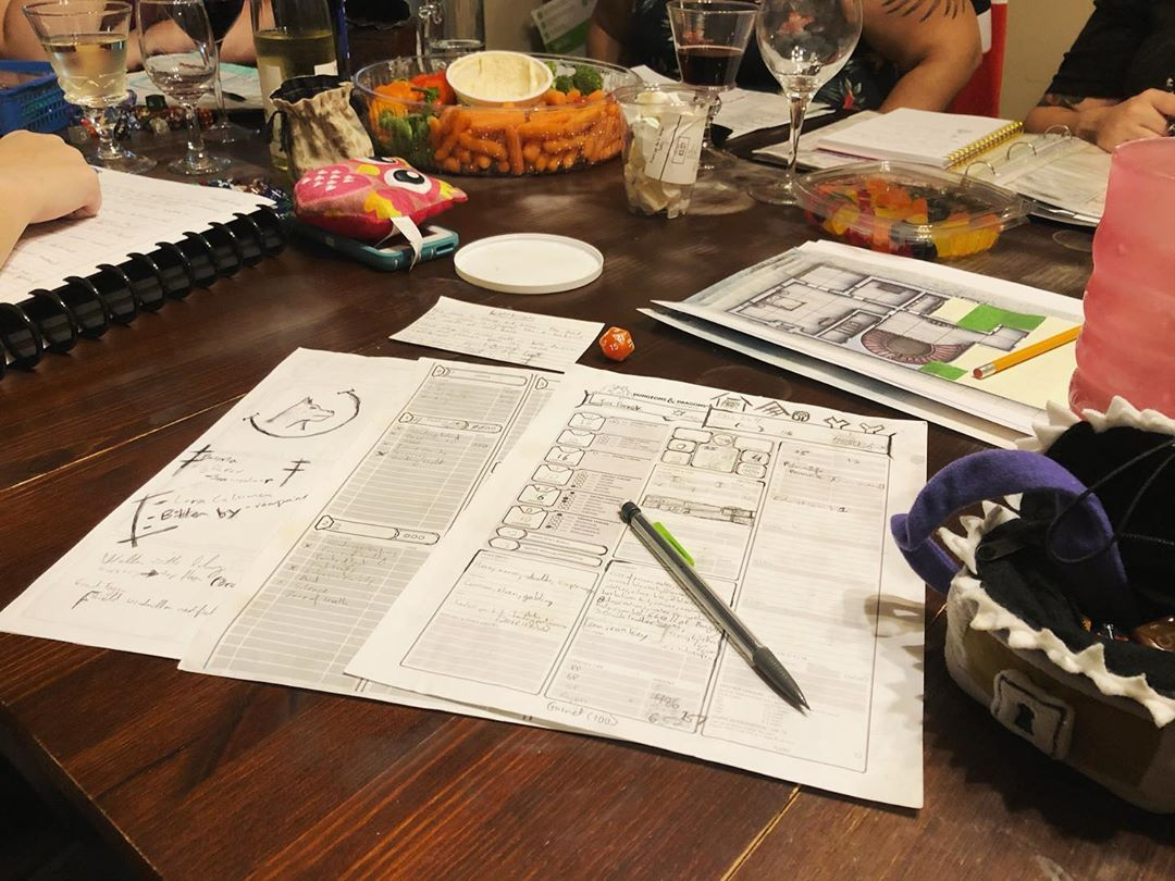 D&D Night: I Died, Briefly