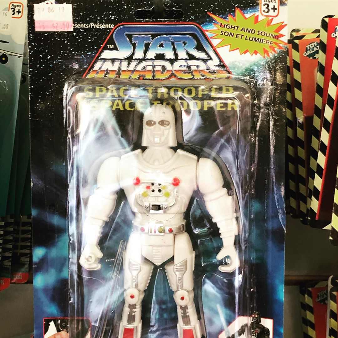 Space Trooper - or, as the French know him, Space Trooper