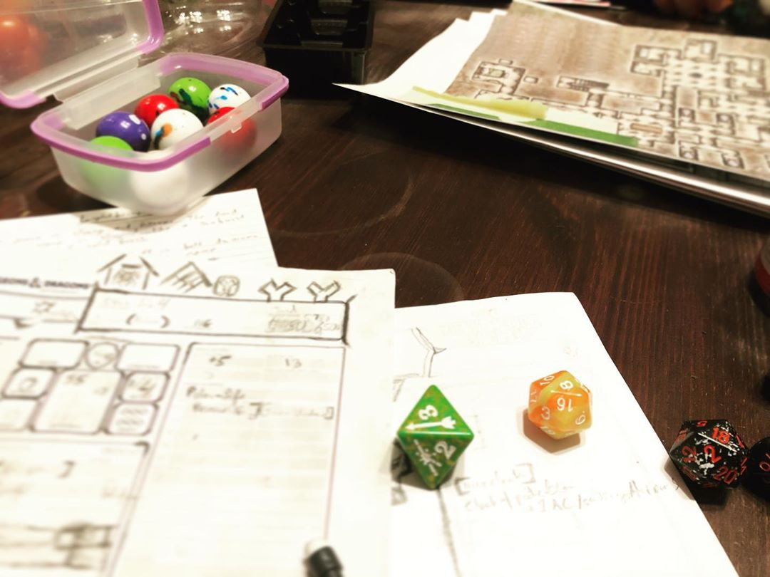 D&D Night: Aghast at Ghasts