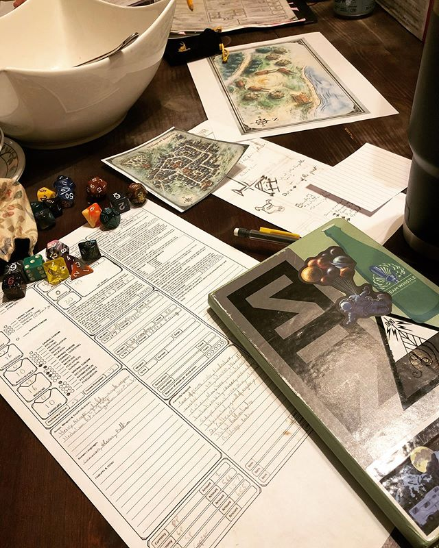 D&D Night: Tarot Readings and Terror Meetings
