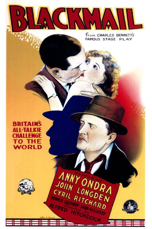 Blackmail (1929) Movie Poster